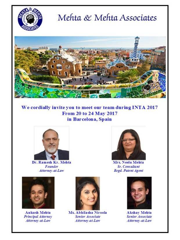 MehtaIP-INTA2017-Invite