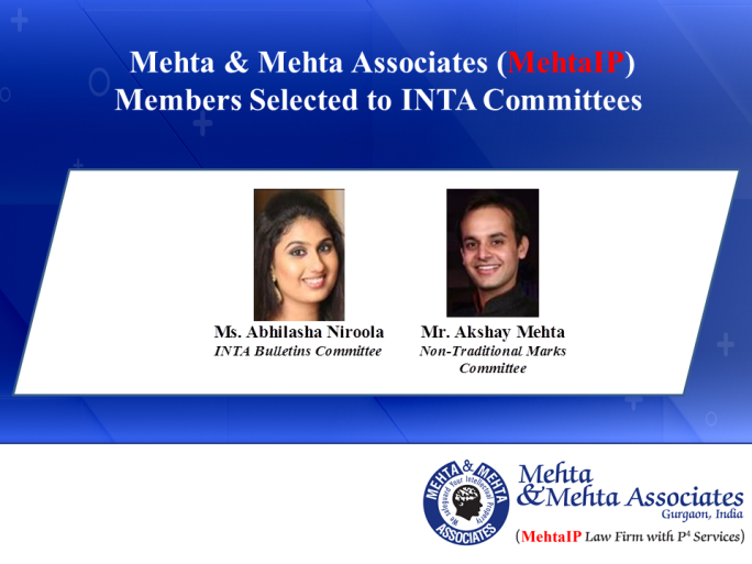 MehtaIP-INTA Committee Announcement
